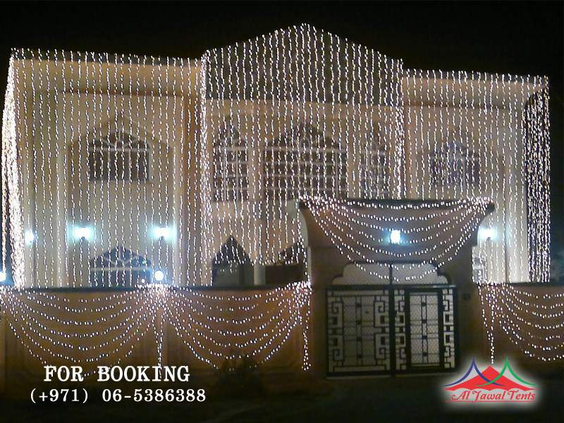 Event Lights Decoration for home residence in Sharjah