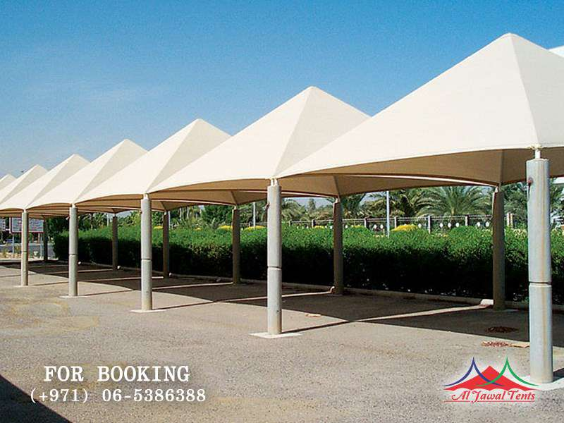 Aljawal canopies in Sharjah