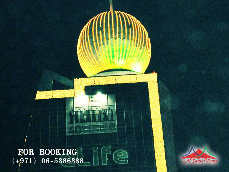 Event Lights eLife Decoration Sharjah Ajman Dubai
