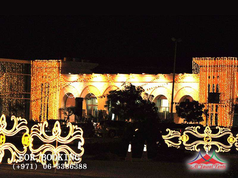 Event Lights Decoration 40 National Day Sharjah
