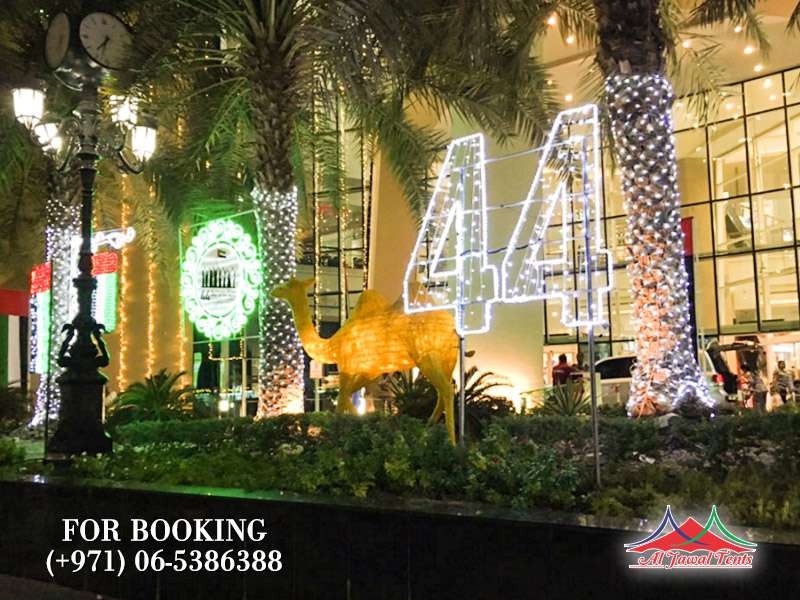 Event Lights Decoration 44 National Day Sharjah