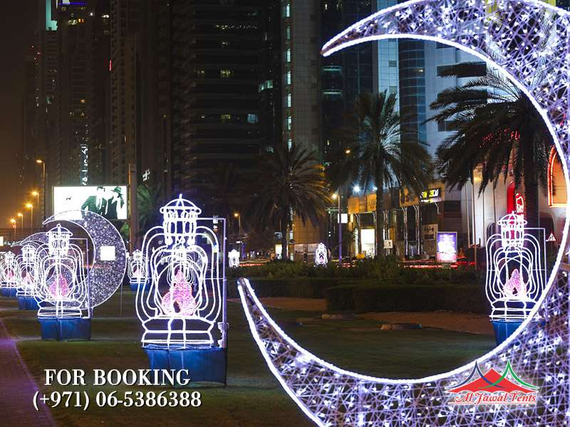 Ramzdan Event Lights Decoration in Sharjah