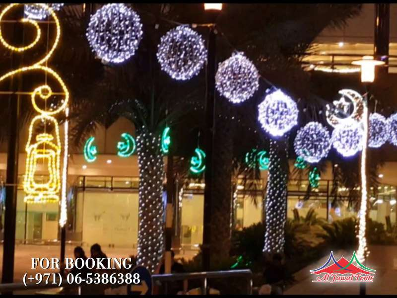 Aljawal lights decoration in Sharjah