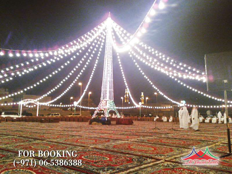 Light Decoration for Rental in Sharjah Ajman Duabi