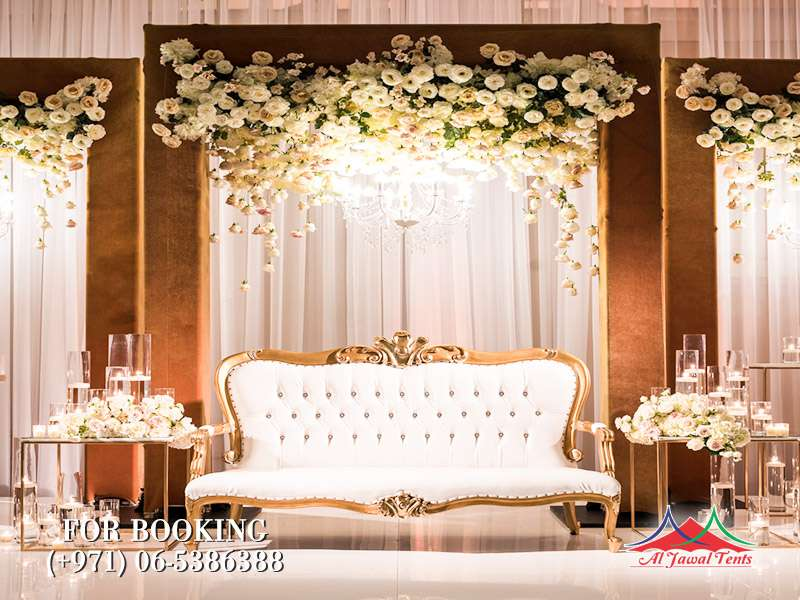 Aljawal wedding stages in Sharjah