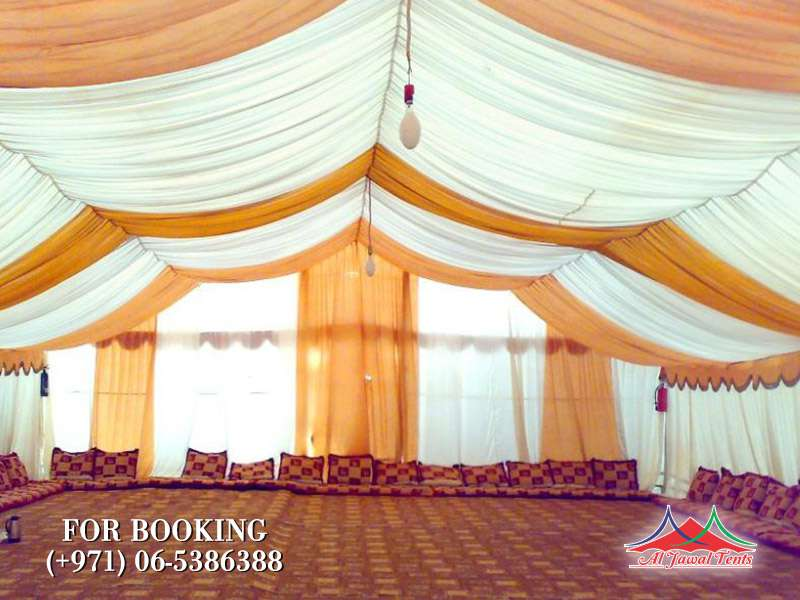 Aljawal Events Tents Rent Services in Sharjah