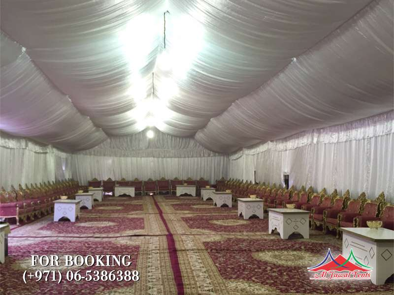 Al-Jawal wedding tents rental services, Majlis Tent, party tents,Tents For Sell, Tents for Rental in Sharjah Ajman Dubai
