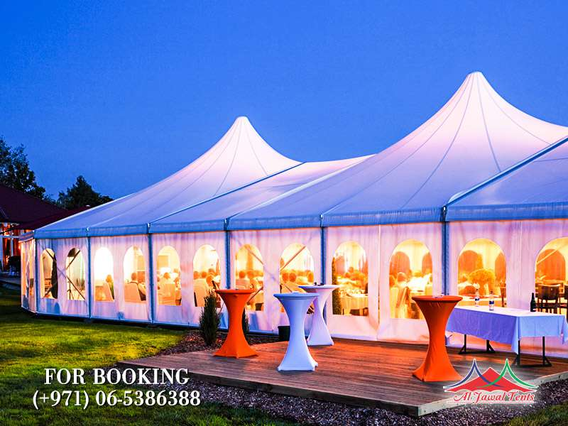 Aljawal wedding tents in Sharjah