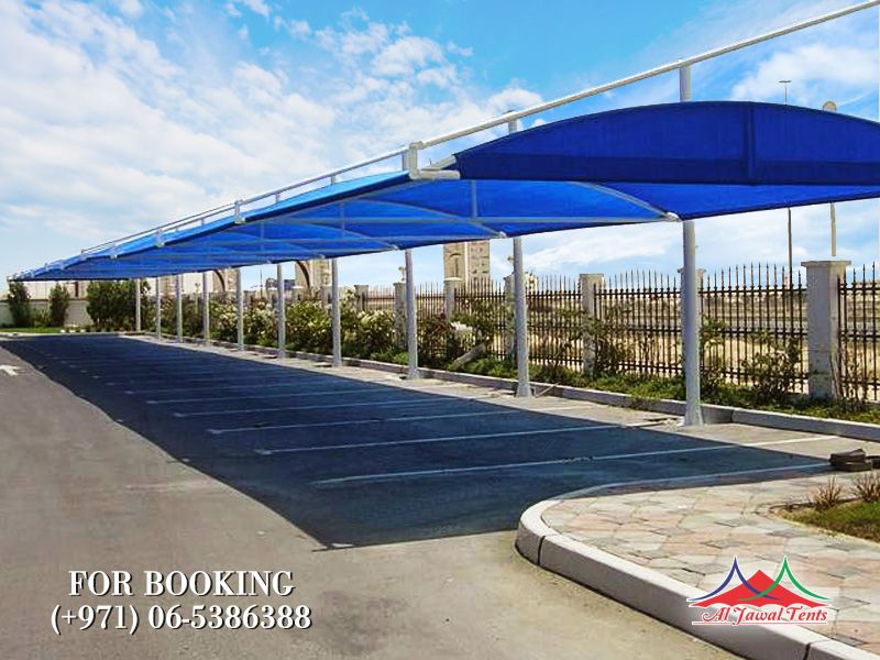 car parking cantiliver shades suppliers manufacturers Sharjah and Dubai
