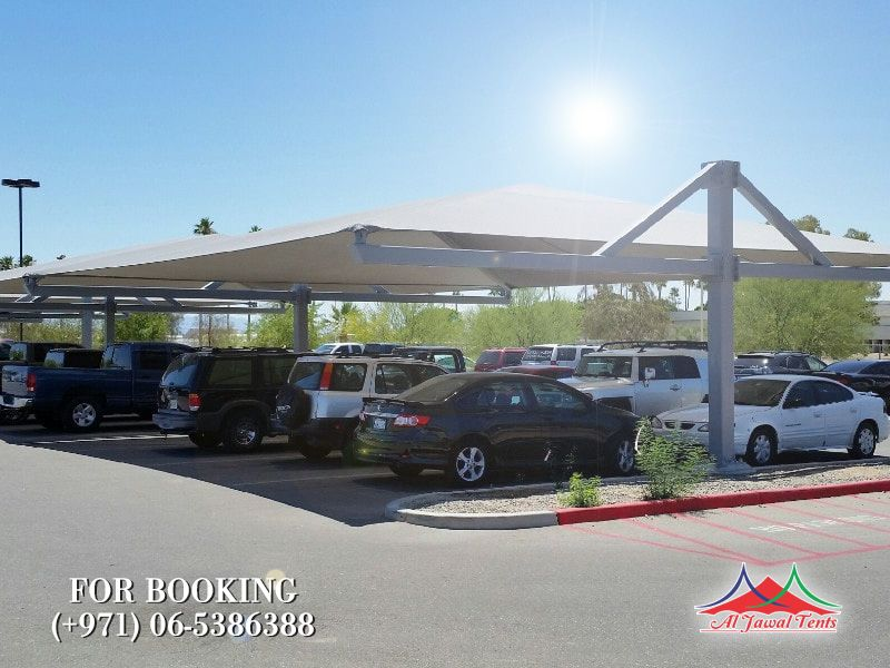 car parking shades doubleside suppliers manufacturers Sharjah and Dubai