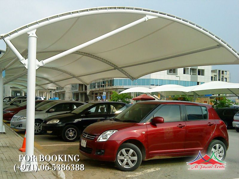car parking shades office wall mounted suppliers manufacturers Sharjah and Dubai