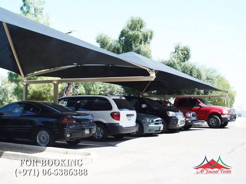 car parking sun shades doubleside suppliers manufacturers Sharjah and Dubai