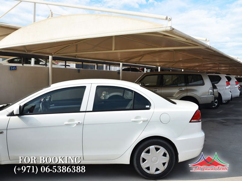 car parking sunshades cantiliver suppliers manufacturers Sharjah and Dubai