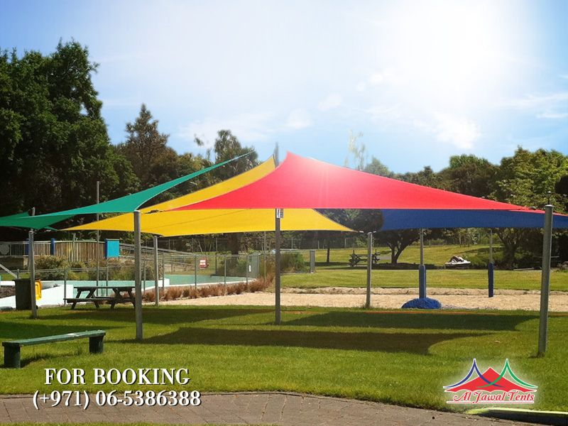 sail kids colored sunshade picnic-playarea suppliers manufacturers Sharjah and Dubai
