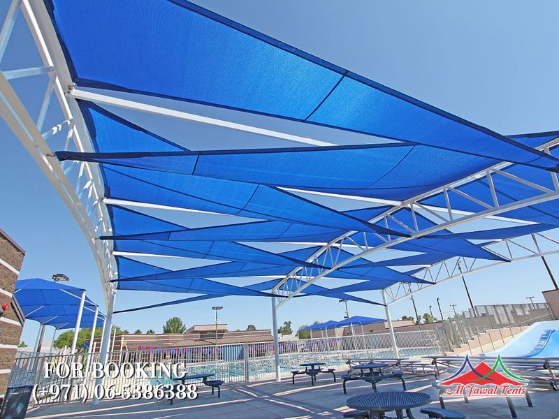 sail sitting shades tents Canopy suppliers manufacturers Sharjah and Dubai